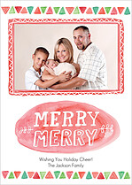 Merry Magic Holiday Magnets - Front