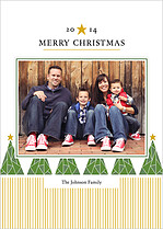North Star Christmas Magnets - Front