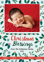 Cherished Blessings Christmas Magnets - Front