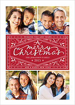 Christmas Classic Red Christmas Magnets - Front