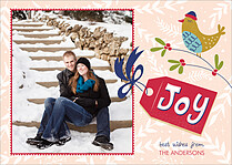 Gift Tag Holiday Magnets - Front