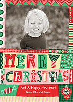 Holiday Hodgepodge Christmas Magnets - Front