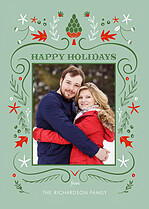 Whimsical Cheer Holiday Magnets - Front