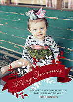 Christmas Smiles Christmas Magnets - Front