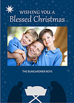 Blessed Christmas - Front