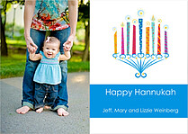 Colorful Hannukah - Front
