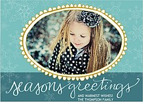 Seasons Teal & Tiffany - Front