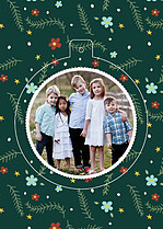 Christmas Cheer Pop Circle - Back