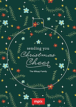 Christmas Cheer Pop Circle - Front