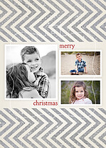 Whimsy Christmas Pop Ornate Christmas Modern Pop Cards - Front