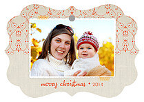 Pride And Joy Christmas Holiday Ornaments - Front