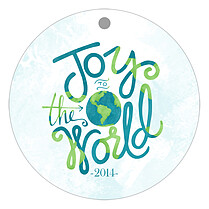 Around The World Holiday Holiday Ornaments - Front