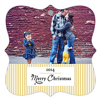 Darling Moments Christmas Holiday Ornaments - Front