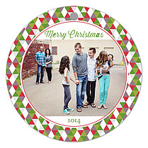 Kaleidoscope Christmas Christmas Holiday Ornaments - Front