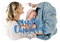 Cheery Moment Christmas Holiday Ornaments - Front