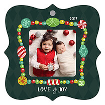 Grand Garland Holiday Holiday Ornaments - Front
