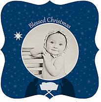 Blessed Christmas - Ornate - Front