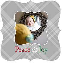 Peace & Joy - Ornate - Front