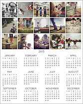 Grid 2015 Photo Calendars - Front