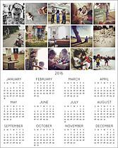 Grid 2016 Photo Calendars - Front