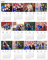 Parallel 2016 Photo Calendars - Front