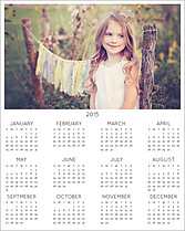 Single Image 2015 Photo Calendars - Front