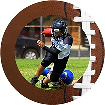 Football Small Clings - Front