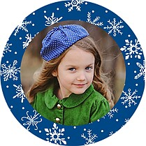 Holiday Small Clings - Front