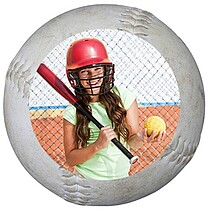 Softball Small Clings - Front