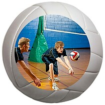 Volleyball Small Clings - Front
