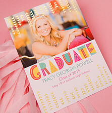 Foil Pressed Graduation Cards