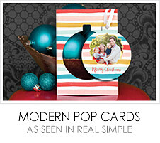 Modern Pop Cards - As Seen in Real Simple