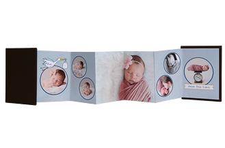 Precious Delivery Baby & Kids Accordion Minis - Front