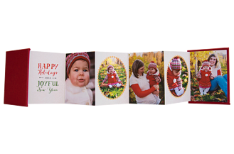 Joyful Montage Holiday Accordion Minis - Front