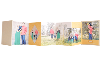 Golden Moments Mother's Day Accordion Minis - Back