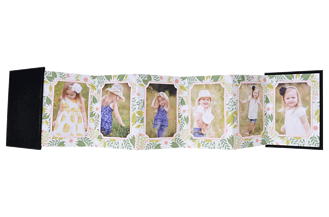 Little Wildflower Baby & Kids Accordion Minis - Front