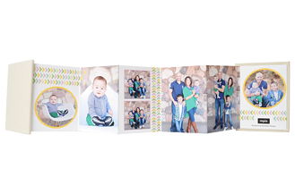 Colorful Arrows Baby & Kids Accordion Minis - Back