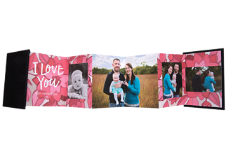Bursting Love Mother's Day Accordion Minis - Front