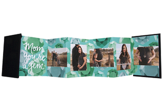 Hidden Gem Green Mother's Day Accordion Minis - Front