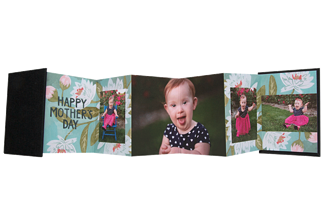 Mother's Touch Mother's Day Accordion Minis - Front