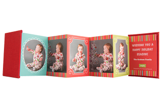 Gift-Wrapped Goodies Holiday Accordion Minis - Back