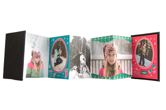 Pretty Presents Holiday Accordion Minis - Back