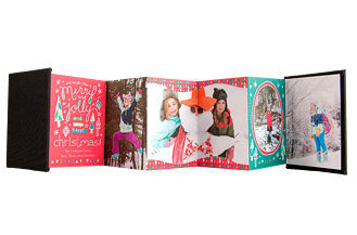 Pretty Presents Holiday Accordion Minis - Front