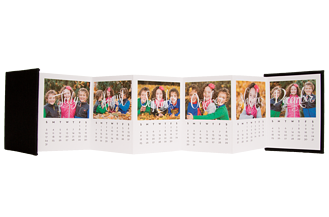 Splendid Scrawl 2016 Calendar Accordion Minis - Back