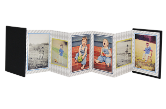 Bouncing Boy Mother's Day Accordion Minis - Back