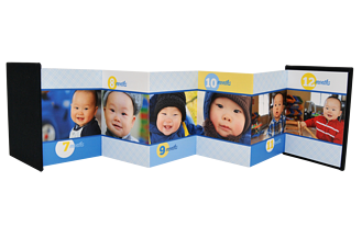 First Year Boy Baby & Kids Accordion Minis - Back