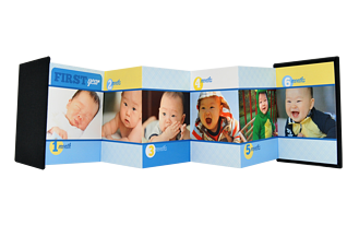 First Year Boy Baby & Kids Accordion Minis - Front