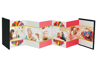 Color Burst Mother's Day Accordion Minis - Front