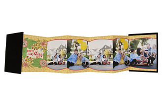 Spring Flowers Mother's Day Accordion Minis - Front