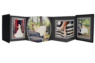 Timeless Wedding 1 Wedding Accordion Minis - Back
